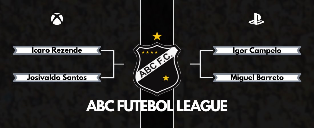 CHEGAMOS A FINAL DA ABC FUTEBOL LEAGUE!