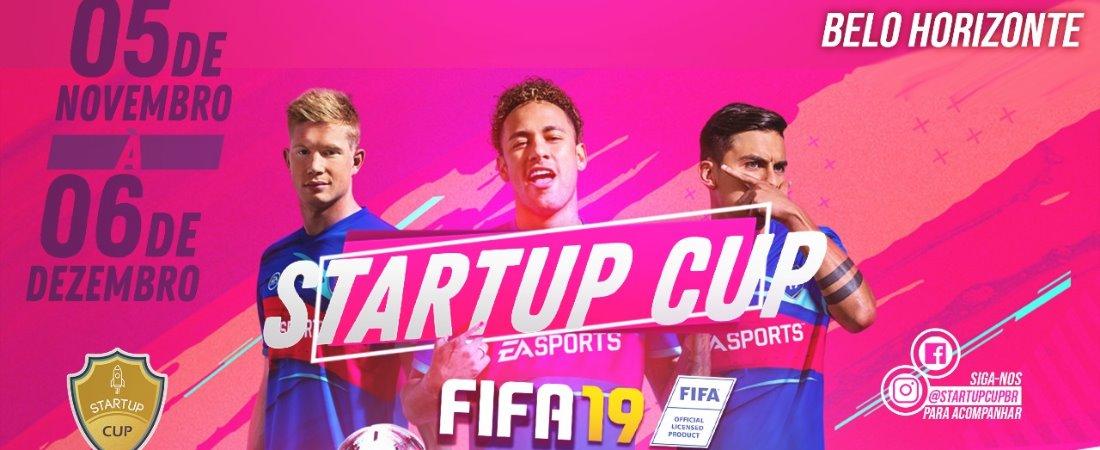 AGORA É A HORA DO FIFA NA STARTUP CUP BH!