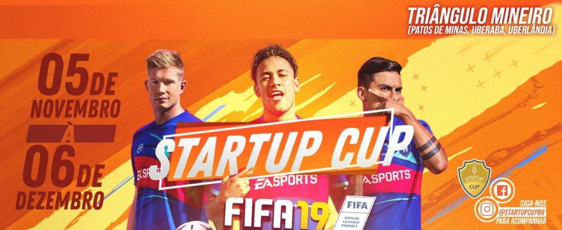 ATENÇÃO TRIÂNGULO MINEIRO E PATOS DE MINAS: STARTUP CUP DE FIFA VAI COMEÇAR