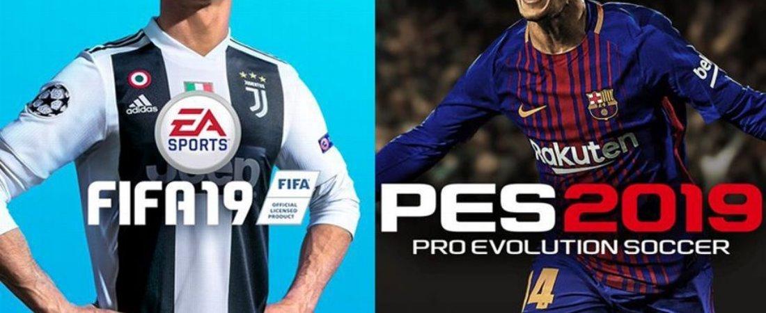 FIFA 19 E PES 2019 ?